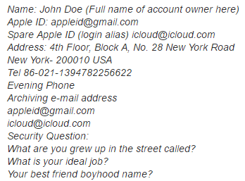 iCloud Contact Information Service - iPhone IMEI Unlock Check