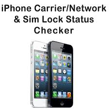 iPhone network check