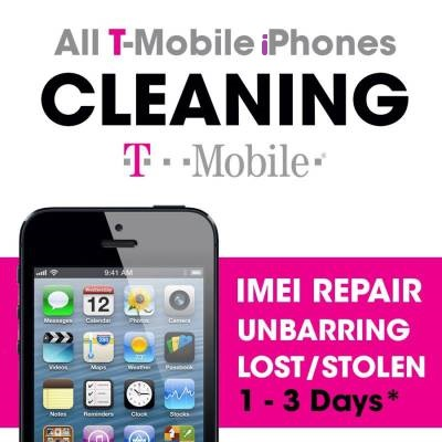 T-Mobile USA iPhone Cleaning/Unblacklist Service