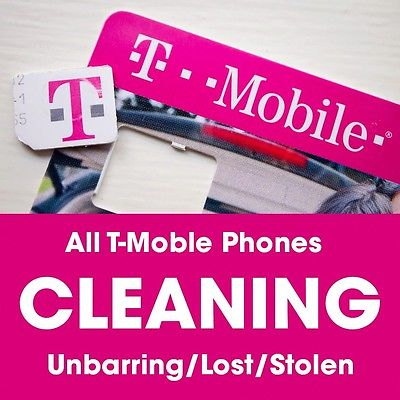 T-Mobile USA Cleaning Unblacklist iPhone Service - iPhone