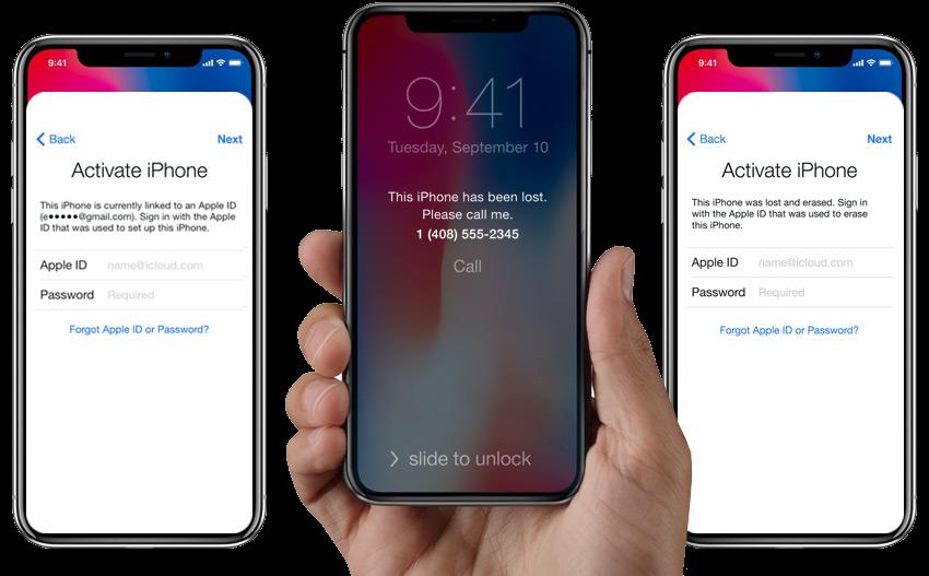 iCloud Unlock Activation Screen