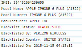 Blacklisted Verizon iPhone - Report #1