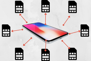 How an iPhone can accept different SIM-Cards