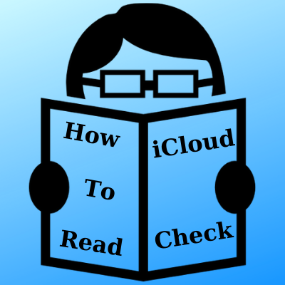 How to read an iCloud Check report