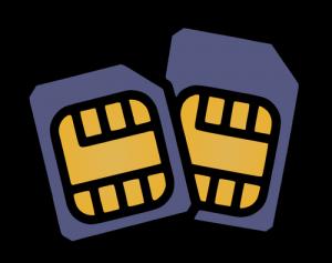 Network locked iPhone - Use 2 sim cards