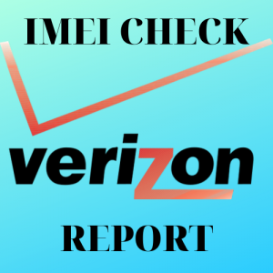 Verizon IMEI CHECK