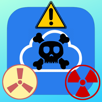 iCloud Results Dangerous results